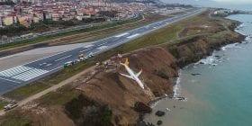 صور مرعبة… طائرة تركية تقل 162 راكباً كانت على شفا كارثة محققة!