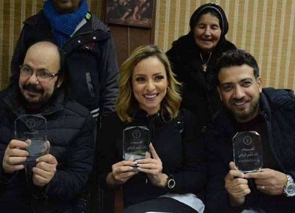 ريم البارودي تنفعل على أحد الصحفيين بسبب أحمد سعد.. ماذا حدث؟