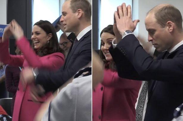بالفيديو- كيت ميدلتون تحرج الأمير وليام برقصها العلني