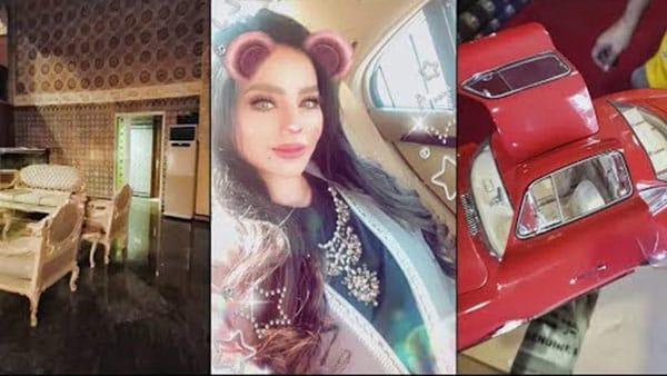 بالفيديو: لجين عمران في بيت زواجها الأول مع أولادها
