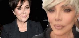 Kris Jenner dyes hair blonde to match daughters Kim and Khloe Kardashian