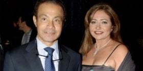 ليلى علوي تنعي زوجها السابق بعد وفاته بفيروس كورونا