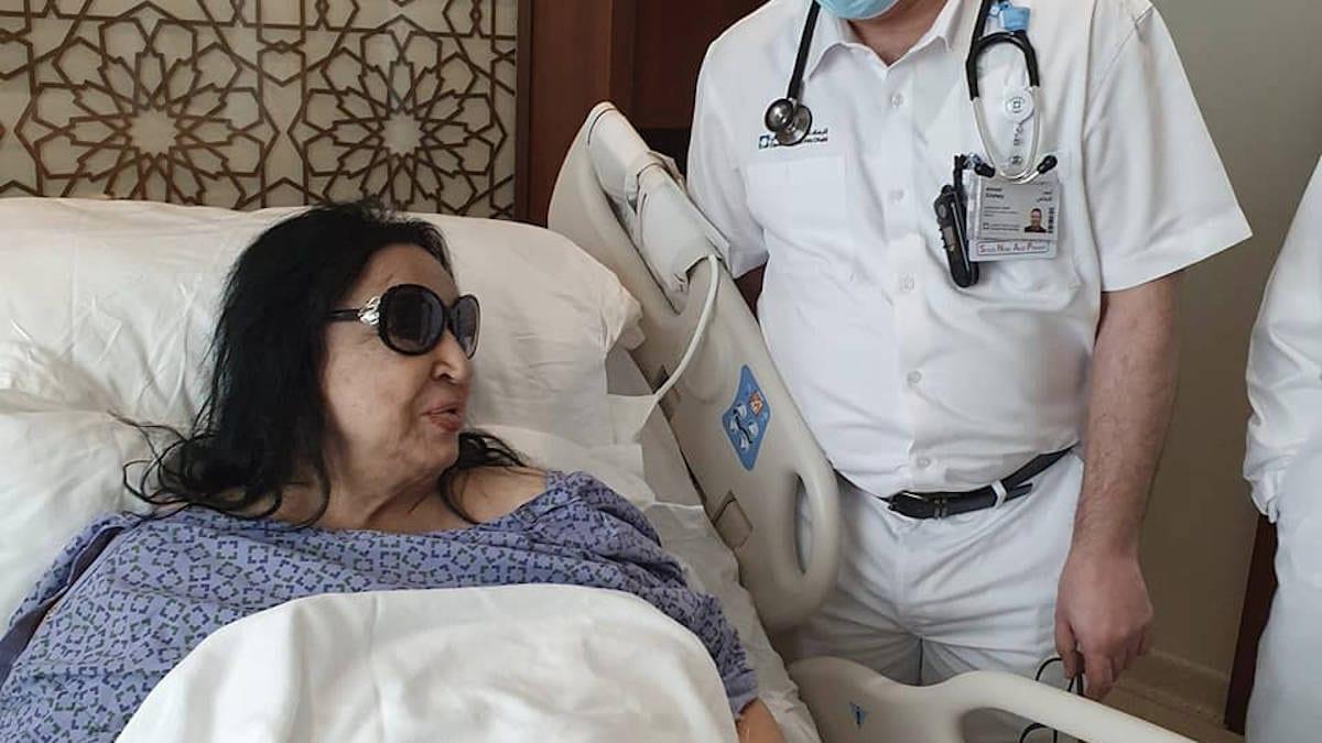 سميرة توفيق تخضع لعملية جراحية.. وهذه تطورات وضعها الصحي