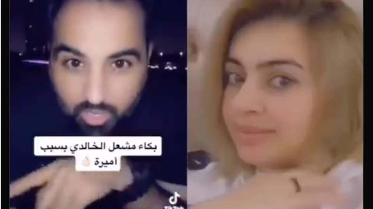 """شاهد.. زوج أميرة الناصر يبكي: """"حسبي الله ونعم الوكيل فيكي"""""""