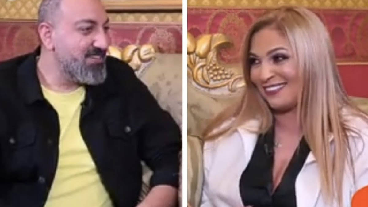 نهلة سلامة تثير الجدل بحديثها عن قبلتي احمد زكي ومحمود حميدة.. وإحالة صحفيين الى التحقيق!