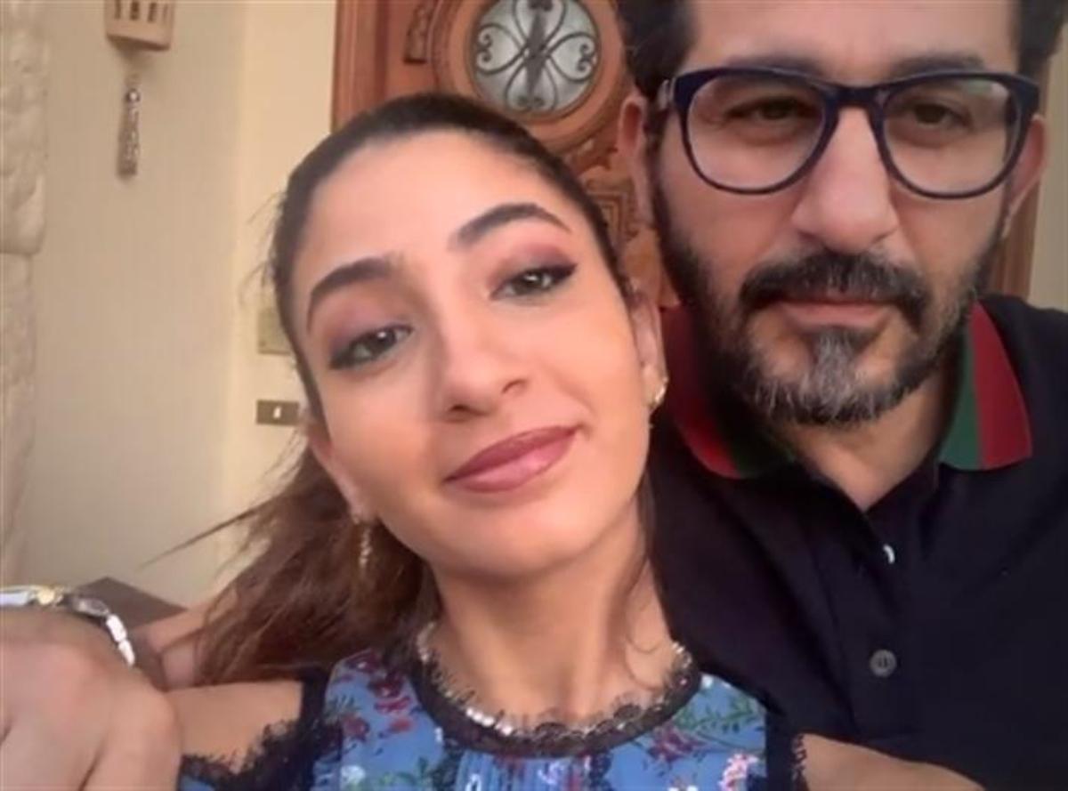 رقصة أحمد حلمي مع ابنته لي لي في أحدث ظهور لهما على تيك توك.. (شاهد)