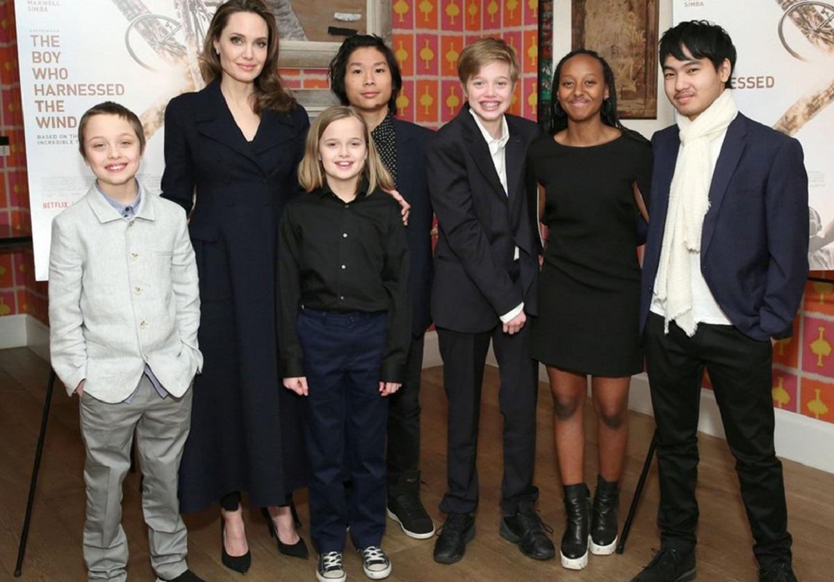 أنجلينا جولي توصي بحرمان ابنائها من الميراث