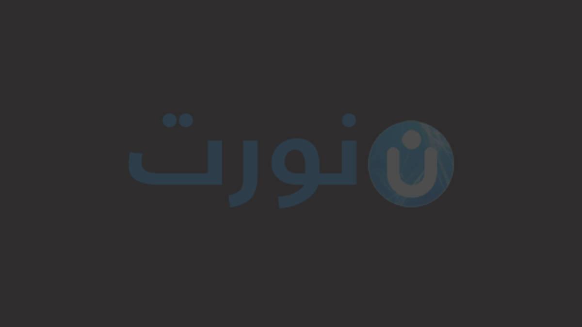 مصطفى الاغا وزجته مي الخطيب